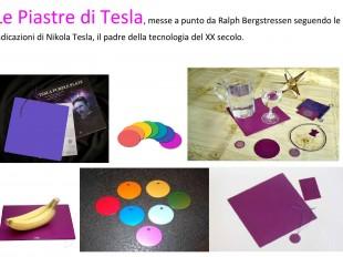 Piastre di Tesla in vendita presso la Libreria Esoterica Cavour di Perugia