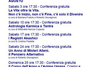 Calendario Esoterico.Calendario Eventi Libreria Esoterica Cavour